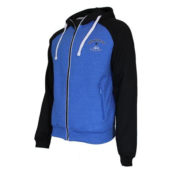 Donnay Donnay Heren - Vest met capuchon - Blauw/Zwart