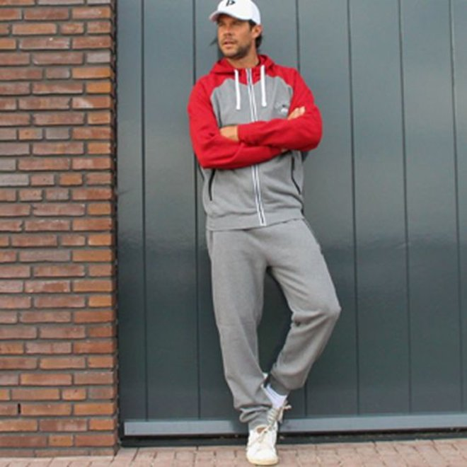 Donnay Heren - Joggingbroek Jack - Zilvergrijs