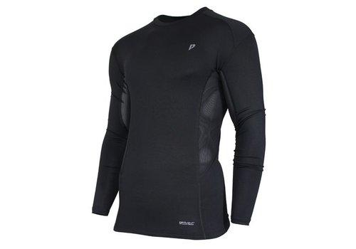 Donnay Donnay compressie shirt lange mouw - Zwart