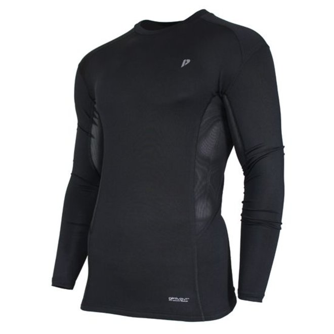 Donnay Heren - Compressie shirt lange mouw - Zwart