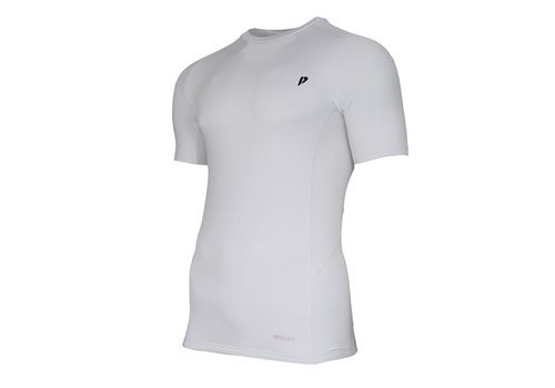 Donnay compressie shirt korte mouw - Wit