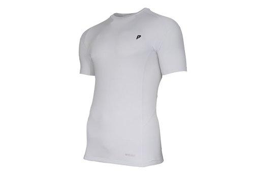 Donnay Donnay compressie shirt korte mouw - Wit