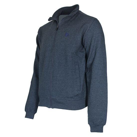 Donnay Donnay Heren - Vest met kraag Bryan - Donker blauw gemêleerd