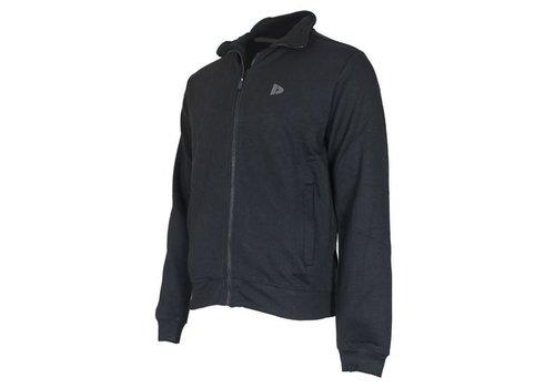 Donnay Sweater met hele rits - Zwart - NIEUW