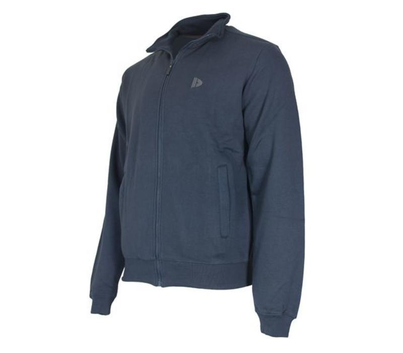Donnay Sweater met hele rits - Donkerblauw - NIEUW