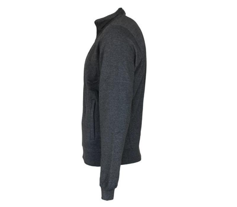 Donnay vest - Donker grijs gemêleerd - NIEUW