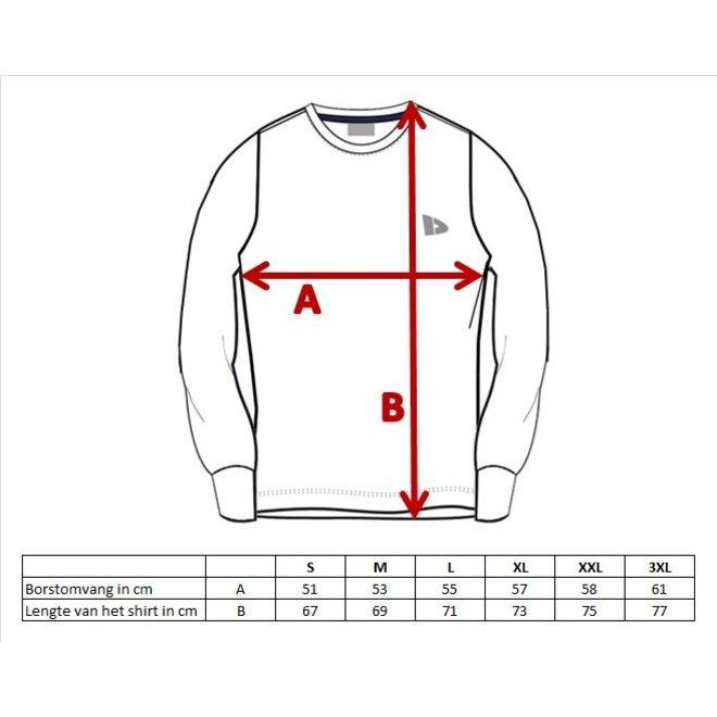 Donnay Heren - Multi Sport T-shirt lange mouw - Cobalt