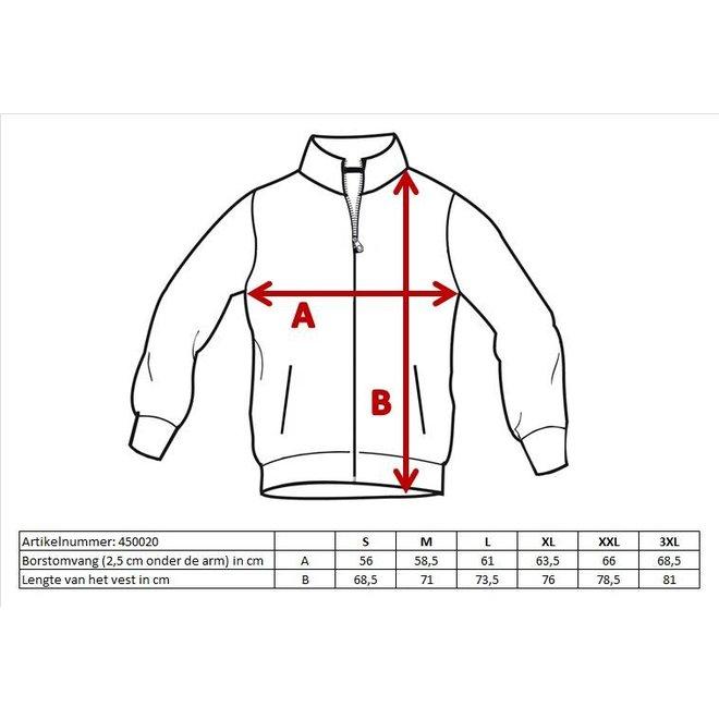 Donnay Heren - Vest met kraag Bryan - Donker blauw gemêleerd