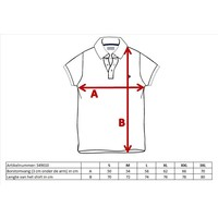 Donnay Polo pique Tipped Riff - Rood