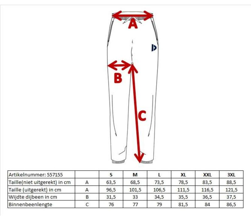 Donnay Joggingbroek (zakken met rits) - Zilvergrijs