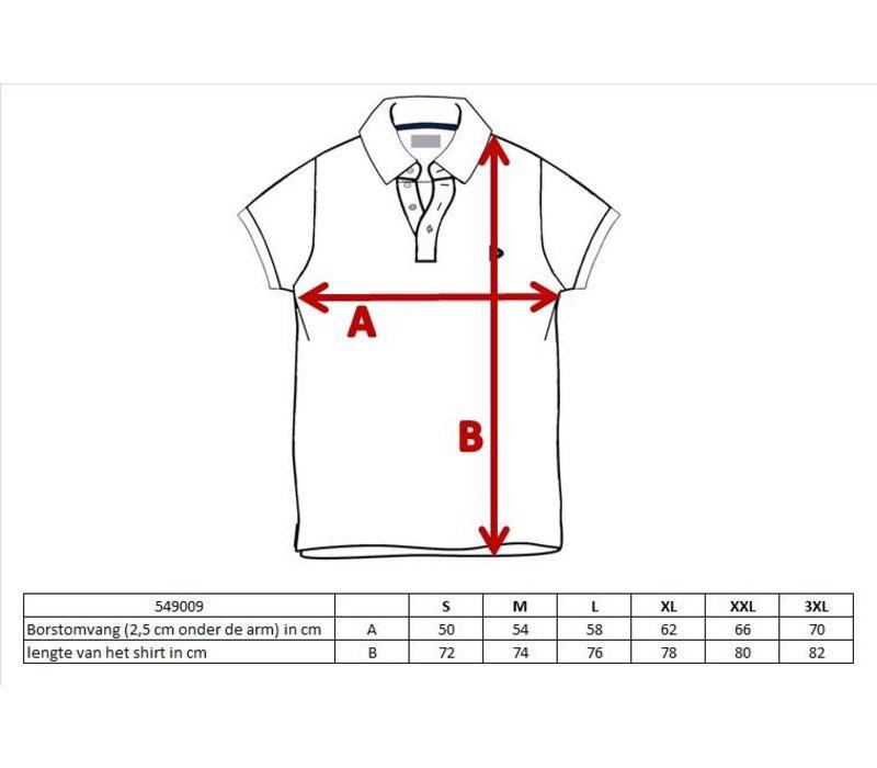 Donnay Polo pique shirt Noah - Cobaltblauw