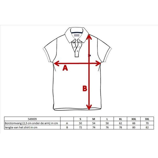 Donnay Heren - Polo pique shirt Noah - Taupe