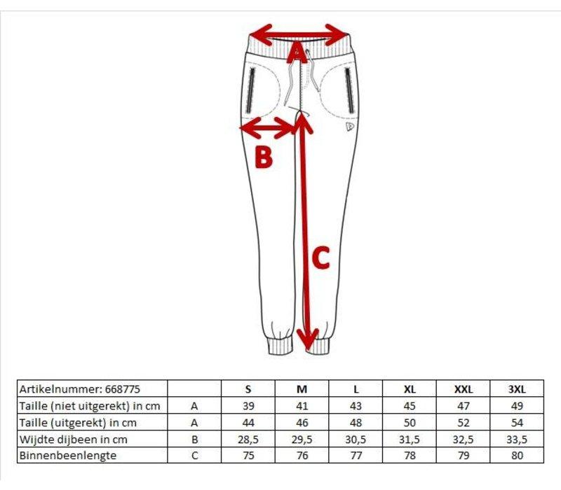 Donnay Joggingbroek met elastiek - Dames - Zwart
