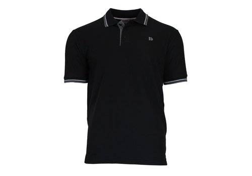 Donnay Donnay Polo pique Tipped - Zwart