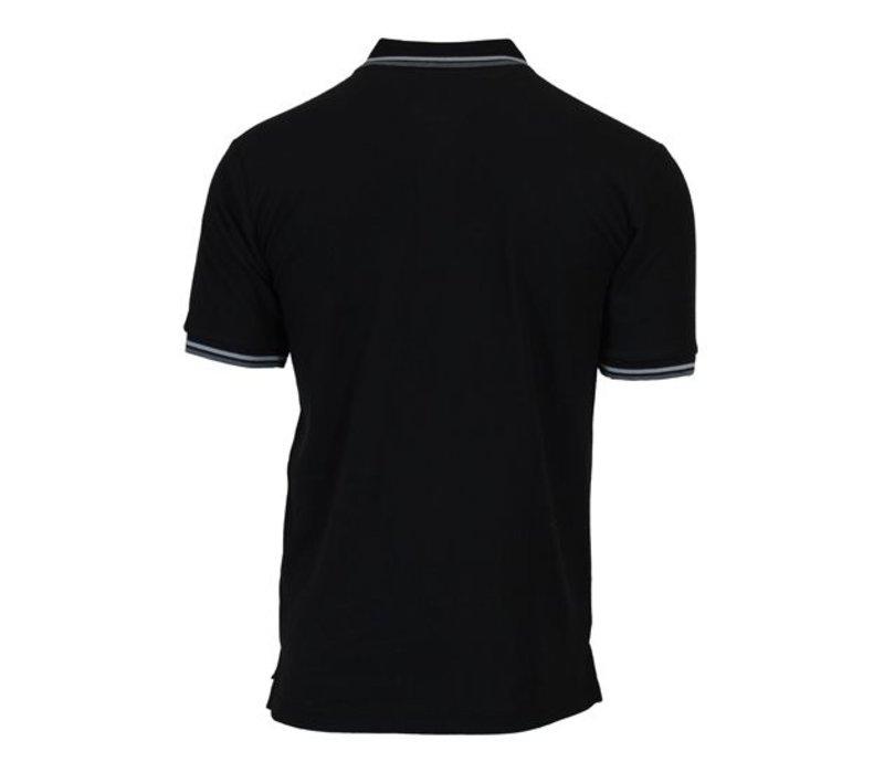 Donnay Polo pique Tipped - Zwart
