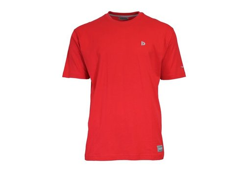 Donnay Donnay T-Shirt Vince - Rood