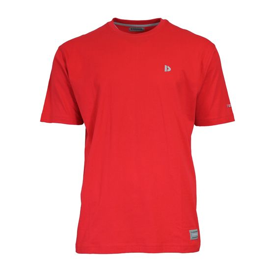 Donnay Donnay Heren - T-Shirt Vince - Rood