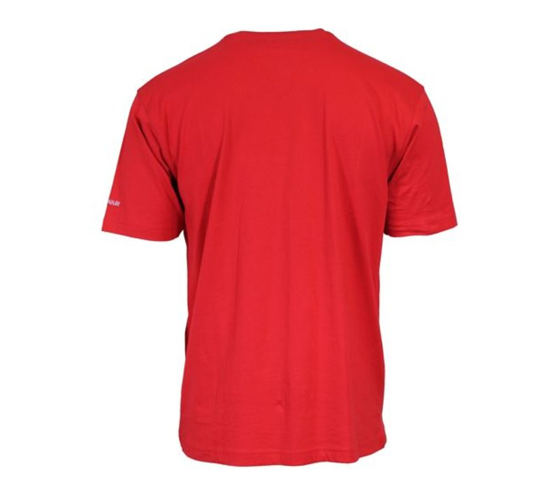 Donnay T-Shirt Vince - Rood