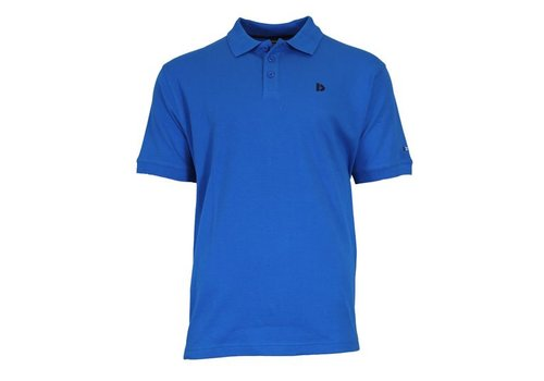 Donnay Donnay Polo pique shirt - Cobalt