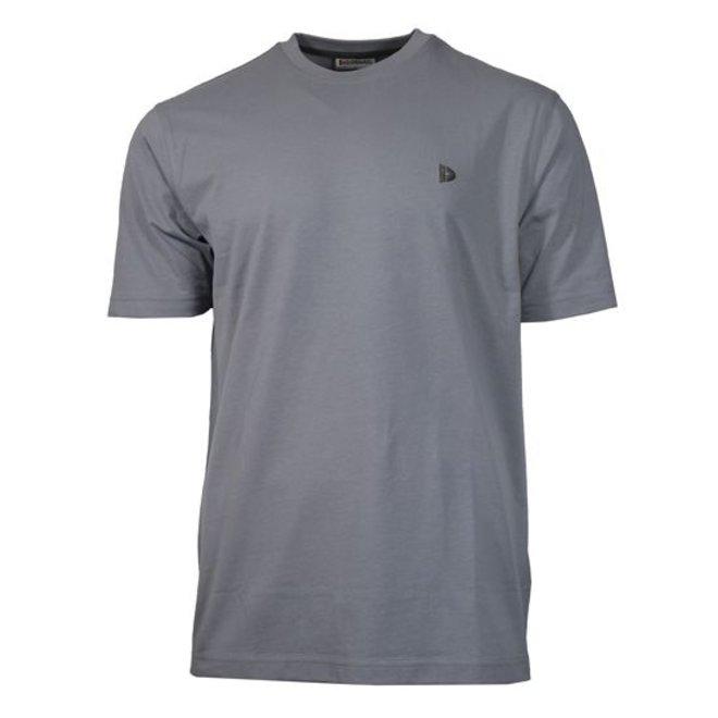 Donnay Heren - T-Shirt Vince - Lichtgrijs