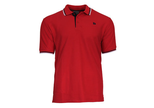 Donnay Donnay Polo pique Tipped - Rood