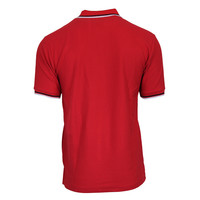 Donnay Polo pique Tipped - Rood