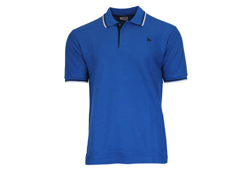 Donnay Donnay Polo pique Tipped - Cobalt