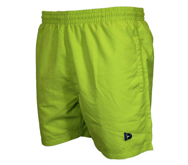 Zwembroek Kort Model.Donnay Sport Zwemshort Kort Model Lime Punch Donnay Nederland