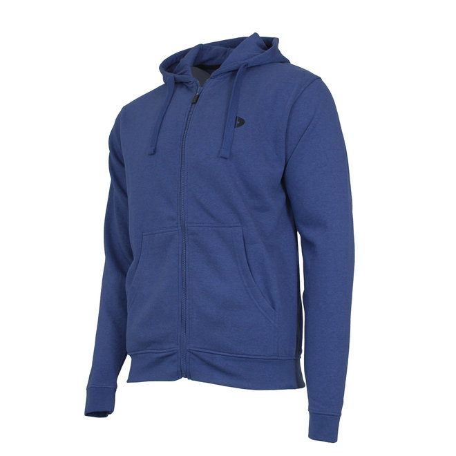 Donnay Heren - Vest met capuchon Bruce - Blauw