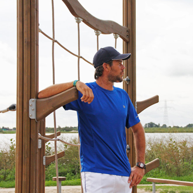 Donnay Heren - Multi Sport T-shirt - Cobalt