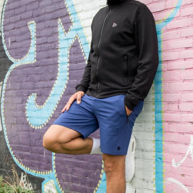 Donnay Heren - Vest met kraag Bryan - Zwart