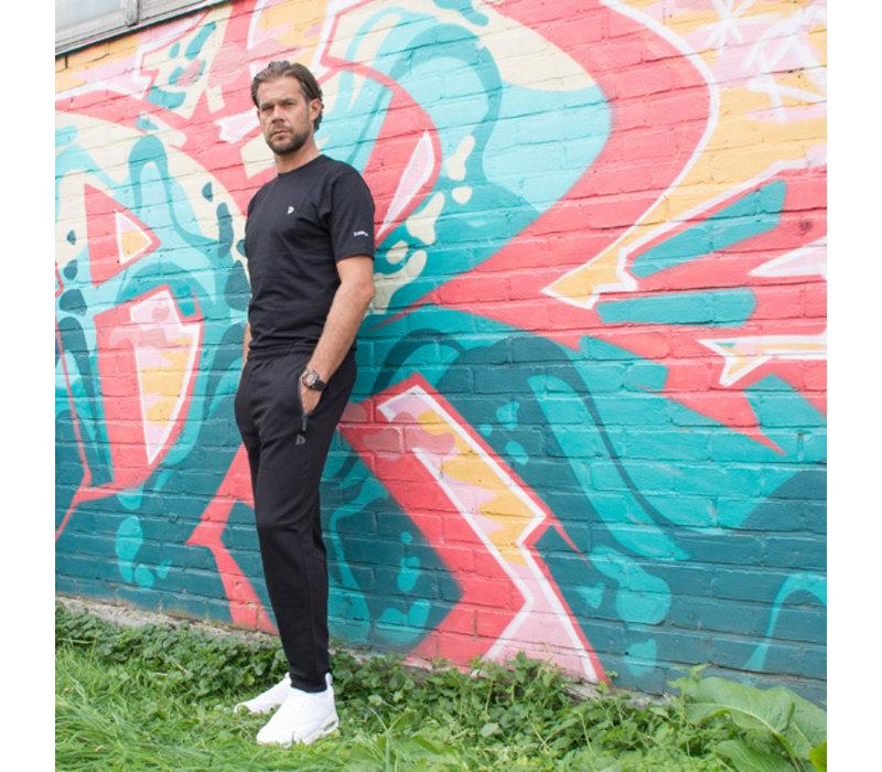 Donnay Joggingbroek (zakken met rits) - Zwart