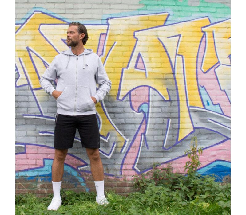Donnay Korte joggingbroek Nick - Zwart