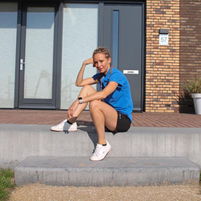 Donnay Dames - Kort joggingshort - Zwart