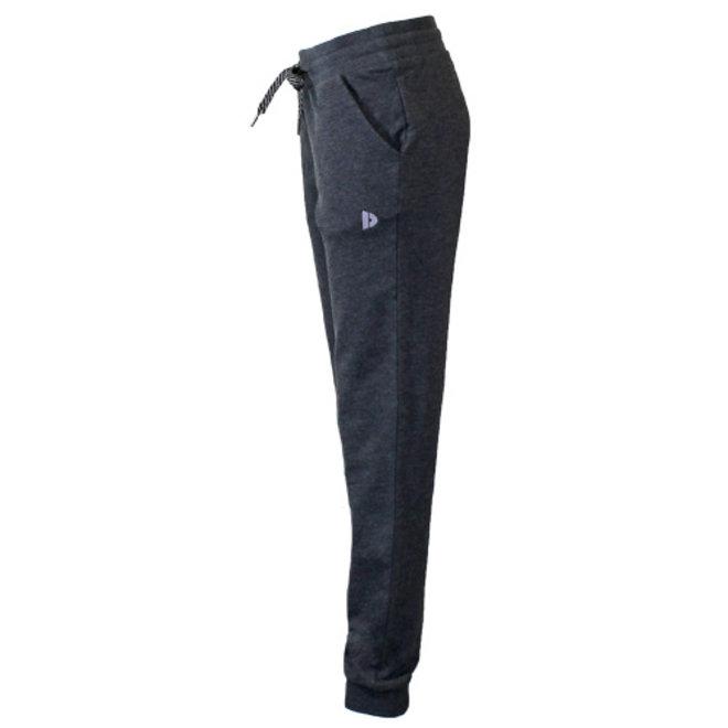 Donnay Dames - Joggingbroek met elastiek Puck - Grijs