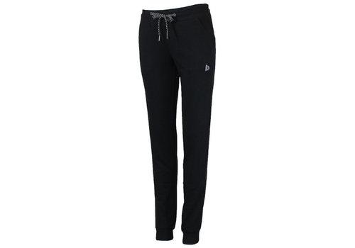 Donnay Donnay Joggingbroek met elastiek - Dames - Zwart