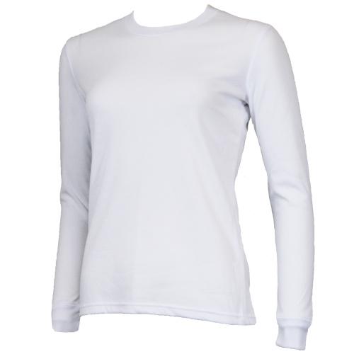 Campri Campri Dames - Thermo shirt lange mouw - Wit
