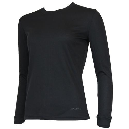 Campri Campri Dames - Thermo shirt lange mouw - Zwart