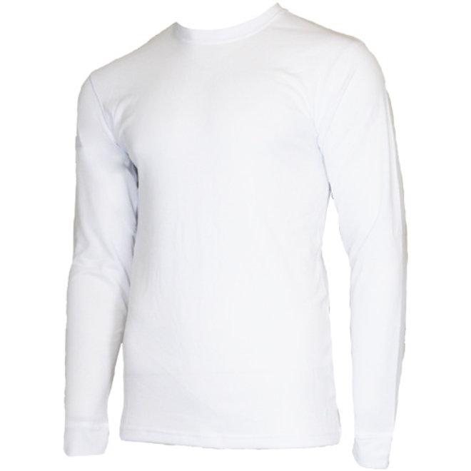 Campri Heren - Thermo shirt lange mouw - Wit