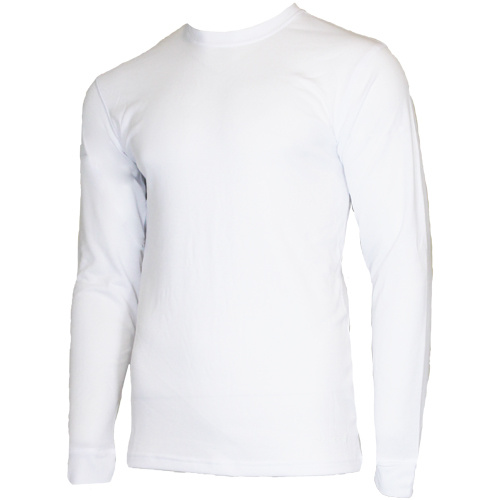 Campri Campri Heren - Thermo shirt lange mouw - Wit