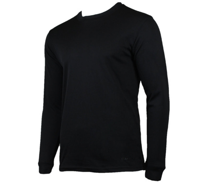 Campri Heren Thermo shirt lange mouw - Zwart