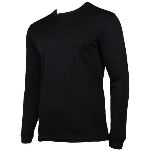 Campri Campri Heren - Thermo shirt lange mouw - Zwart