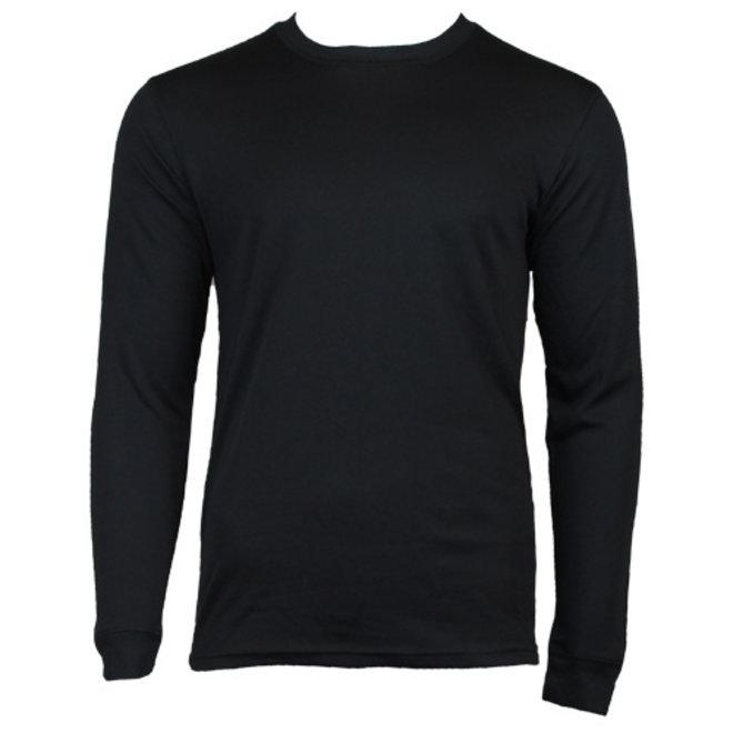 Campri Heren - Thermo shirt lange mouw - Zwart
