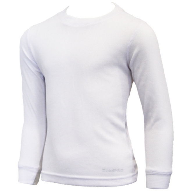 Campri Junior - Thermo shirt lange mouw - Wit