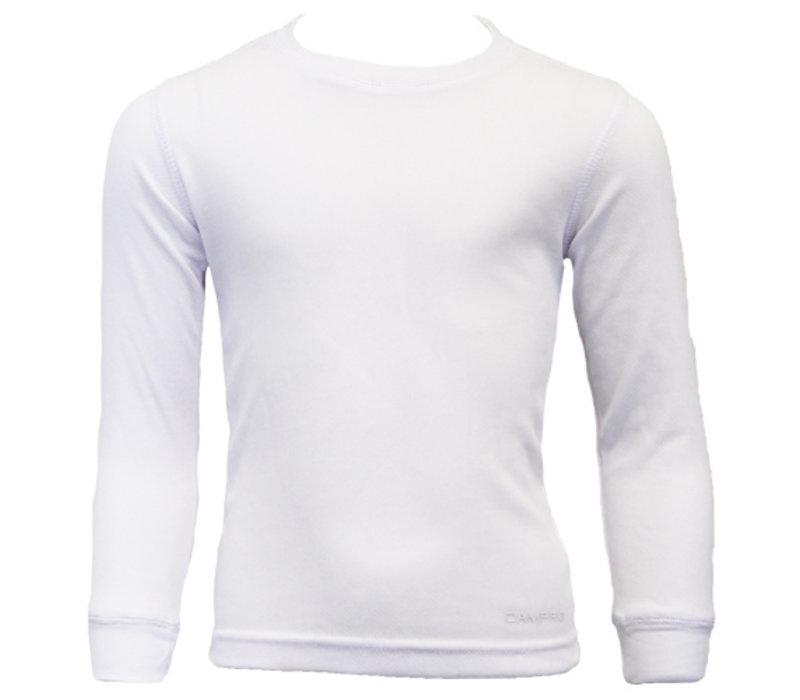 Campri Junior Thermo shirt lange mouw - Wit