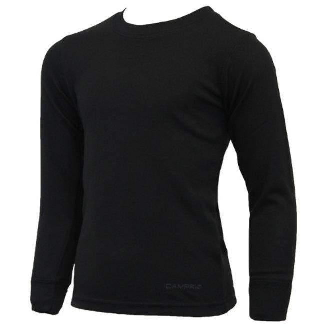 Campri Junior - Thermo shirt lange mouw - Zwart