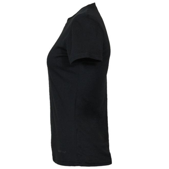 Campri Dames - Thermo shirt korte mouw - Zwart