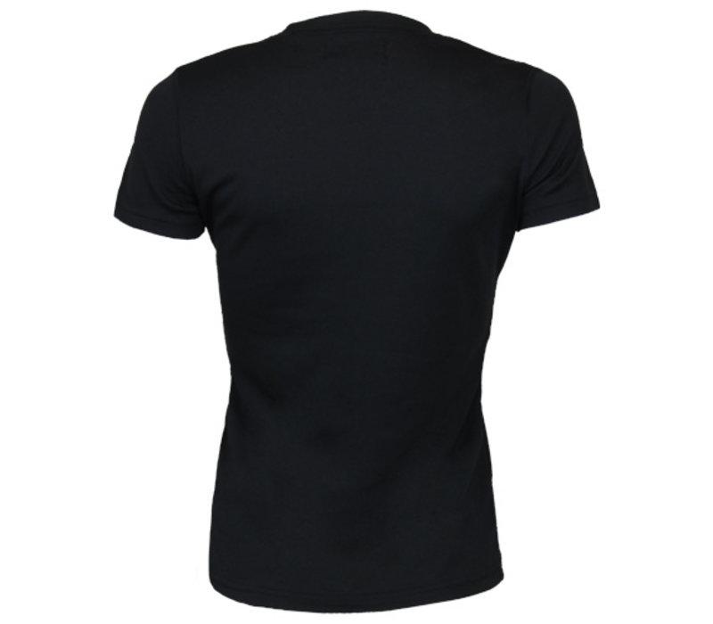 Campri Dames Thermo shirt korte mouw - Zwart