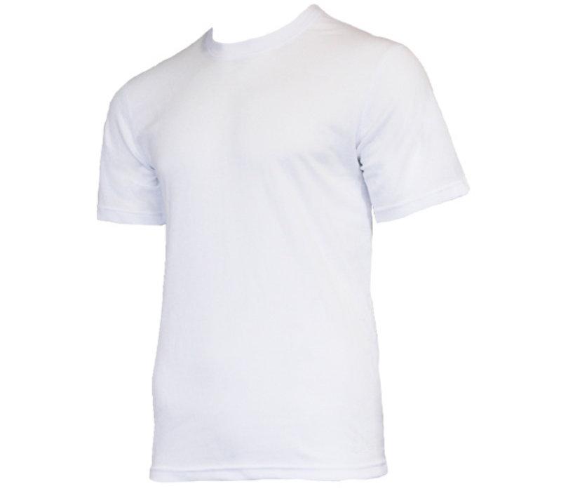 Campri Heren Thermo shirt korte mouw - Wit