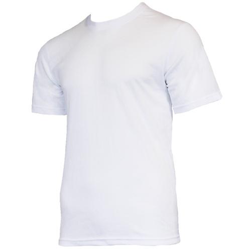 Campri Campri Heren - Thermo shirt korte mouw - Wit